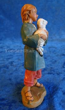 "Silas - 7.5"" Fontanini Nativity Shepherd Boy 52796"