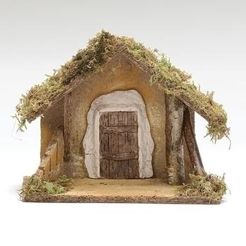 Fontanini nativity stable 55093
