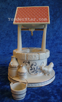 Town Water Well Lenox First Blessing Nativity Set