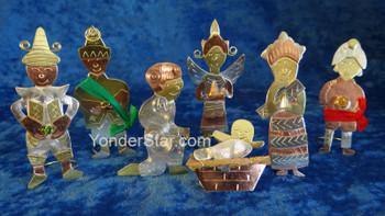 Thai Nativity Scene from Chaing Mai Thailand