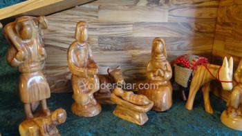 Jordanian nativity scene