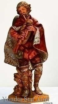 """Josiah - 27"""" Fontanini Nativity Musician  53152"""