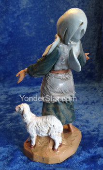 "Elisabeth - 7.5"" Fontanini Nativity Wife of Thaddeus 54815"
