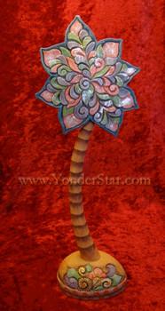 "10"" Palm Tree - G.Debrekht Illustrated Nativity"