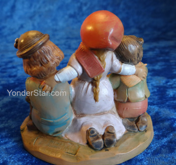 "Jethro, Tamar, and Saul - 5"" Fontanini Nativity Children 72696"