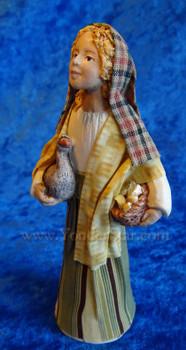Maya - Hestia Companions Nativity Goose Girl - Retired in 2012