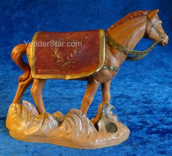 Horse nativity Fontanini