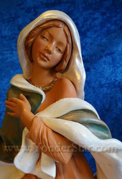 """Mary - 18"""" Fontanini Nativity 53712"""