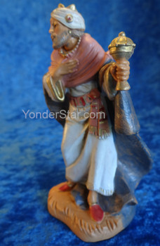 "Gaspar King - 5"" Fontanini Nativity Wiseman  72187"