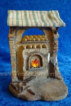 """Bakery Shop - 5"""" Fontanini Nativity Market 55580"""