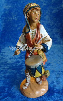 "Jareth - 7.5"" Fontanini Nativity Drummer Boy 65169"