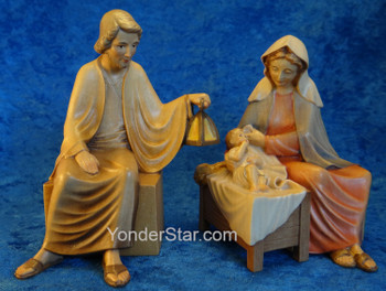 Holy Family Seated LEPI Venetian Italian Nativity