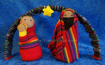 Guatemalan nativity set