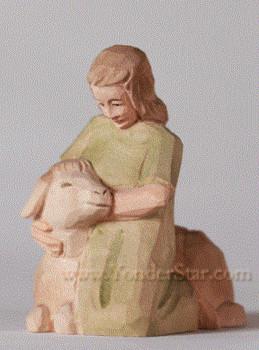Swiss nativity girl