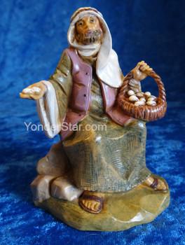 "Ezra - 5"" Fontanini Nativity Egg Peddler 57524"