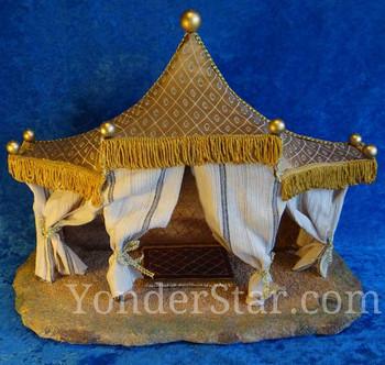 Kings tent Fontanini nativity