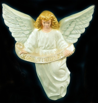 Outdoor Nativity Set Angel Full Color