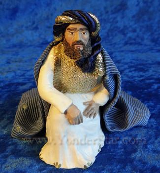 Wiseman Melchior Companions Nativity Hestia