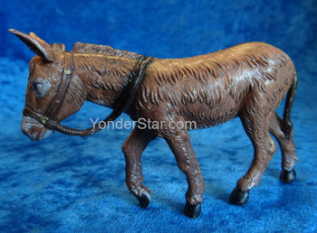 "Donkey - 5"" Fontanini Nativity Animal 54085"