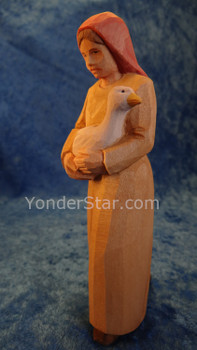 Huggler carved nativity figure