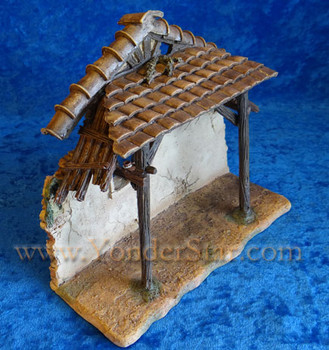 "9"" Fontanini Resin Manger for 5"" Nativity Figures  50468"