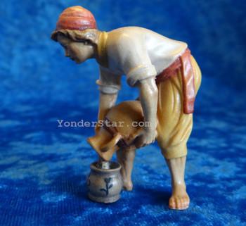 Nazarene Water Carrier Boy for LEPI Nazarene Wooden Nativity