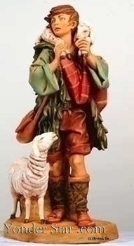 "Gabriel - 27"" Fontanini Nativity Shepherd 53151"