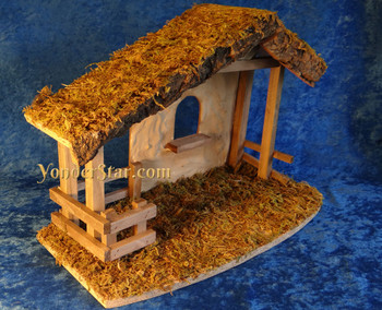 Fontanini wooden stable
