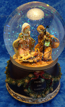 Musicial Fontanini Nativity Glitterdome 59010
