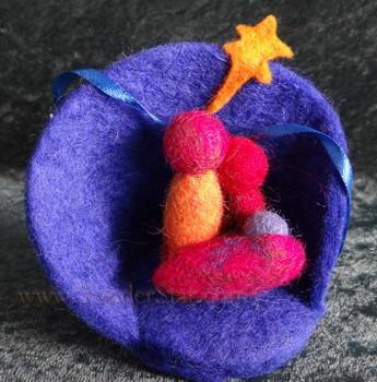 Fair Trade Nativity Ornament from Nepal