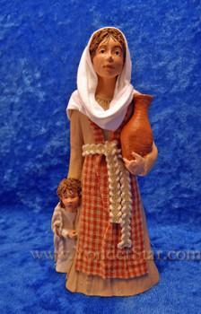 Rebekeh - Hestia Companions Nativity Woman with Child : Pre-Order