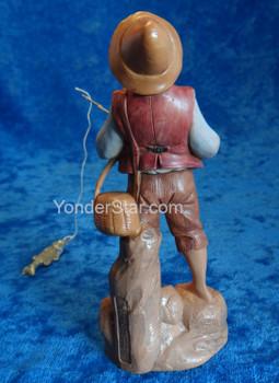 "Jacob - 5"" Fontanini Nativity Boy Fishing 52583"