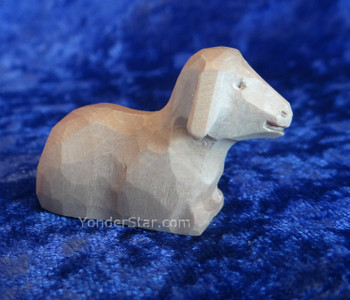 Swiss carved lamb