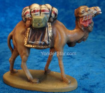 Camel wooden nativity