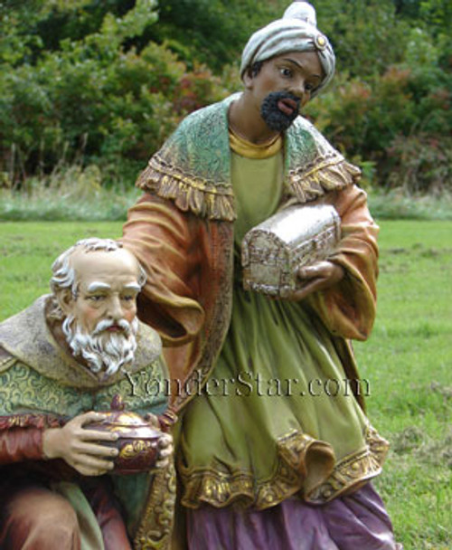 "27"" Three Kings for Full Color Outdoor Nativity Set"