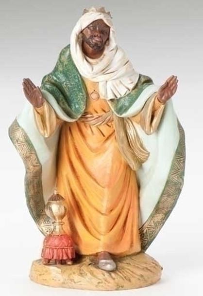 "Balthazar - 18"" Fontanini Nativity Wiseman 53716"