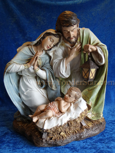 "20"" Holy Family Joseph's Studio Nativity"