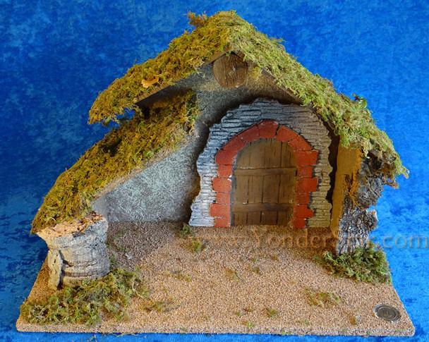 "11.5"" Fontanini Wooden Manger for 5"" Nativity Figures 50481"