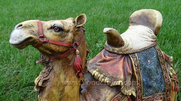 "Seated Camel 27"" Josephs Studio Outdoor Nativity Full Color"