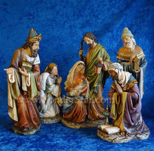 "16"" Traditional Nativity Set by Joseph's Studio"