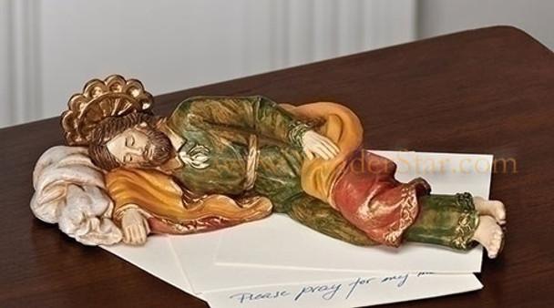 "Sleeping Saint Joseph - 5"" Fontanini Nativity Life of Christ 54111"
