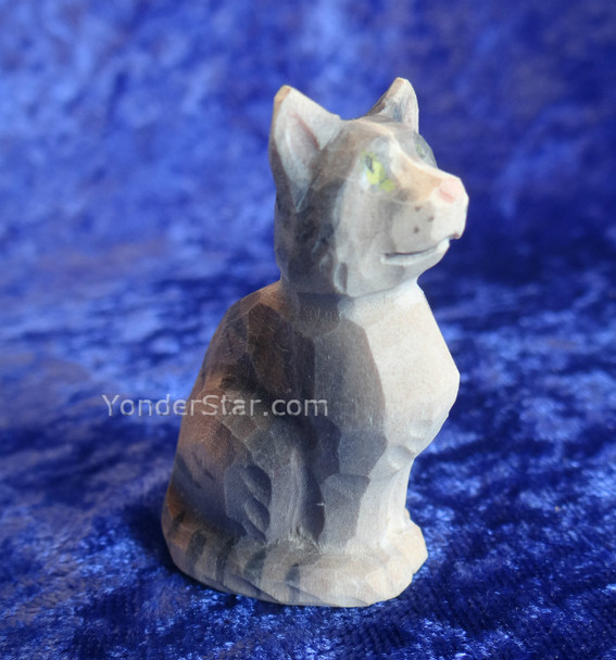 Swiss carved cat