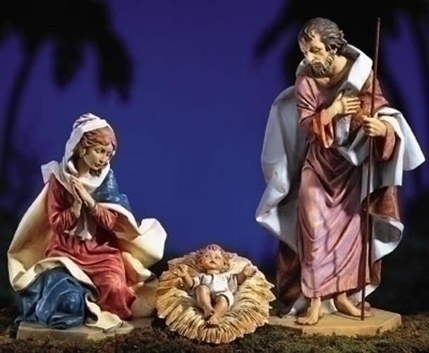 """Holy Family - 27"""" Fontanini Nativity Made in Italy"""