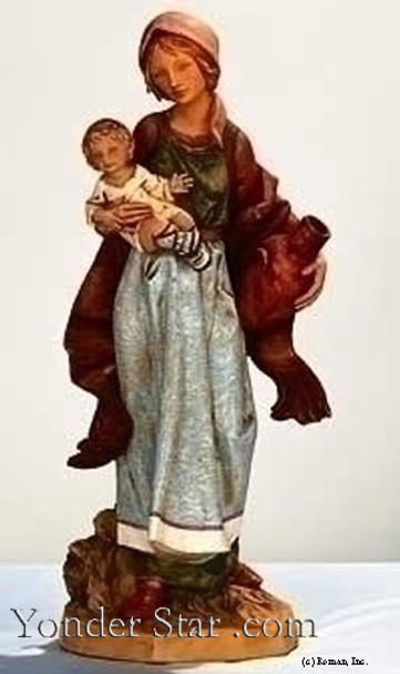 """Rebecca - 27"""" Fontanini Nativity Villager 53185"""