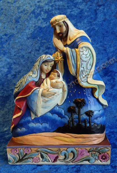 "10"" Holy Family Nativity by Jim Shore"
