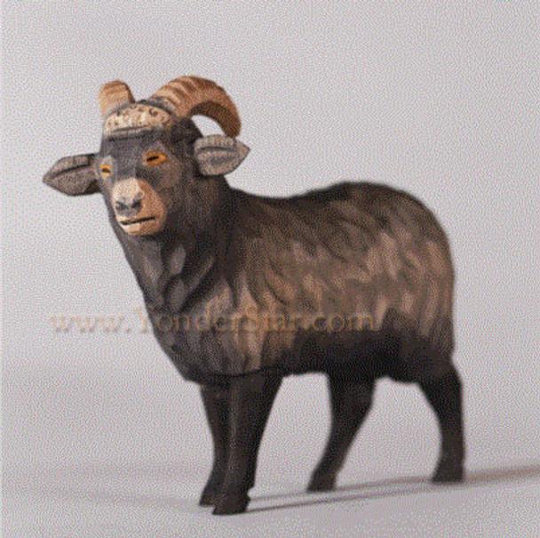 Swiss nativity goat