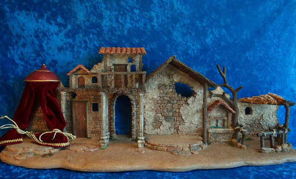 Fontanini nativity backdrop