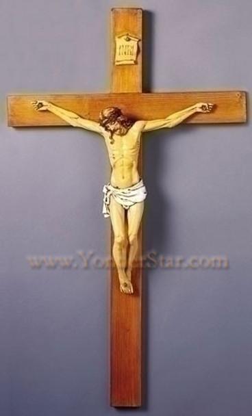 Large Fontanini Crucifix 40 inches tall