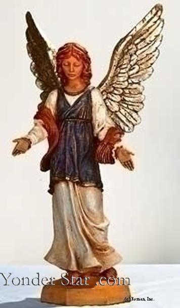"Standing Angel - 27"" Fontanini Nativity 53119"