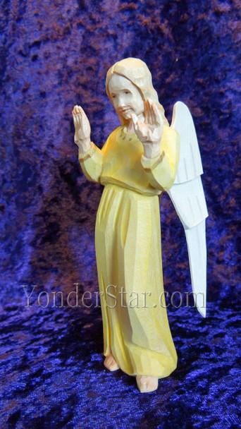 Swiss wood carved angel